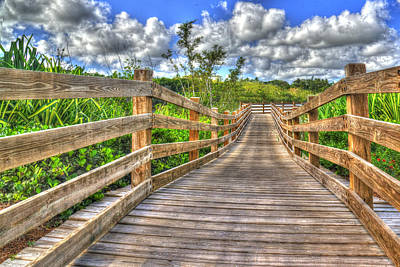Photograph - The Boardwalk by Paul Wear