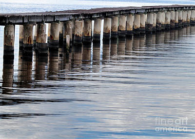 Photograph - The Boat Dock by Sabrina L Ryan
