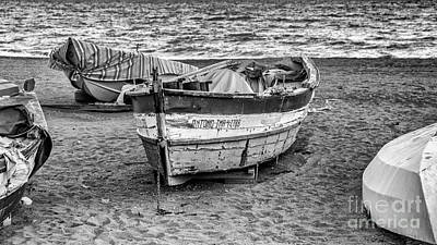 Photograph - The Boat by Eugenio Moya