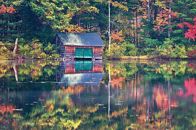 Photograph - The Boat House by Jeff Sinon