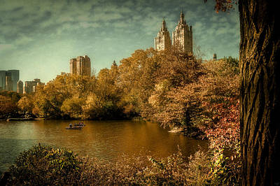Photograph - The Boating Lake In Fall by Chris Lord