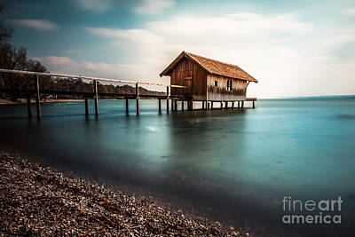 The Boats House II Art Print