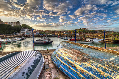 The Boats Of Folkestone Art Print