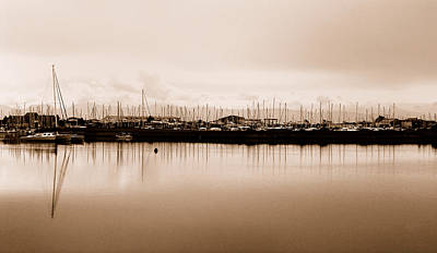 Photograph - The Boatyard by Wendy Wilton