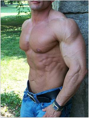 Photograph - The Bodybuilder  Soft Touch by Jake Hartz