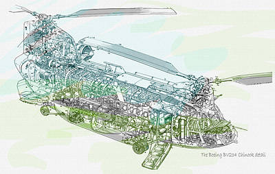 The Boeing Bv234 Chinook Detail Original