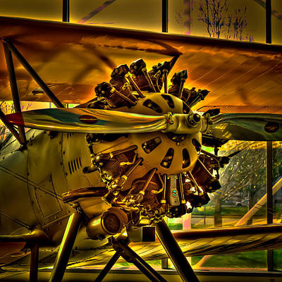 The Boeing Model 100 Biplane Art Print