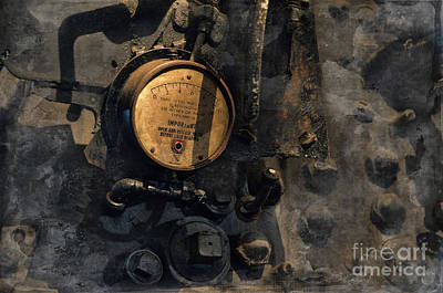 Photograph - The Boiler Gauge by David Arment