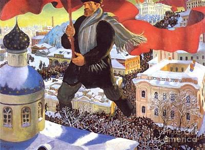 Bolshevik Painting - The Bolshevik by Pg Reproductions