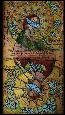 The Book Of Love - Part 1 Art Print by Cornelia Tersanszki