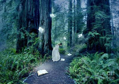 Photograph - The Book To Light Her Path by Jill Battaglia