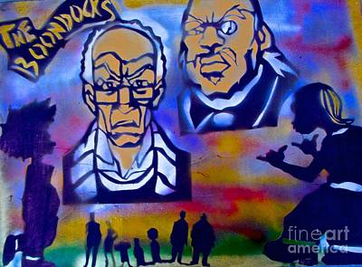 Liberal Painting - The Boondocks Family by Tony B Conscious