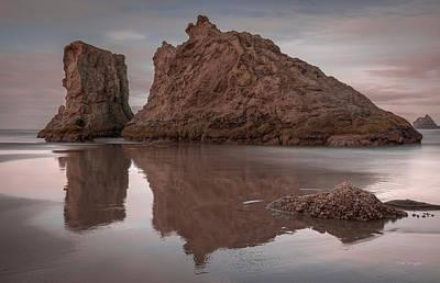 Photograph - Boot And Shoe -- Bandon Oregon by Tim Bryan