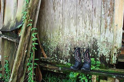 Photograph - The Boots They All Wore by Beverly Stapleton