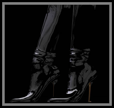 Digital Art - The Boots... by Tim Fillingim
