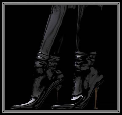 Digital Art - The Boots... by Tim Fillingim