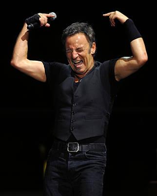 Bruce Springsteen Photograph - The Boss 19 by Rafa Rivas