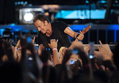 Bruce Springsteen Photograph - The Boss 22 by Rafa Rivas