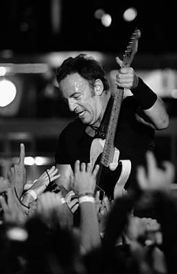 Bruce Springsteen Photograph - The Boss 25 by Rafa Rivas