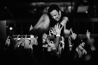 Bruce Springsteen Photograph - The Boss 4 by Rafa Rivas