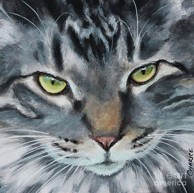 Painting - The Boss by Charice Cooper
