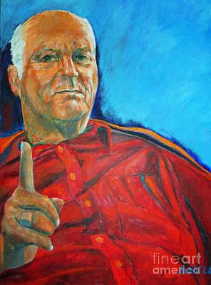 Painting - The Boss by Dagmar Helbig