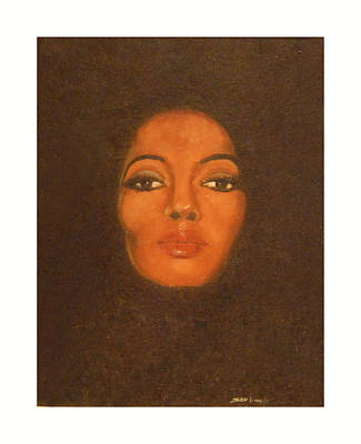 Diana Ross Painting - The Boss by Sam Finch