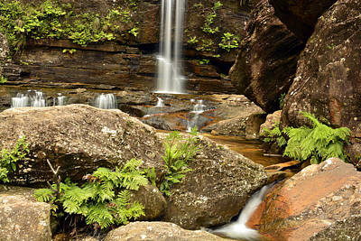 The Bottom Falls Art Print by Terry Everson