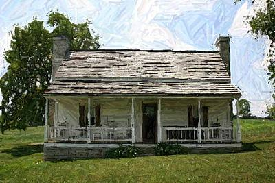 The Bottom House II - Perryville Ky Art Print by Thia Stover