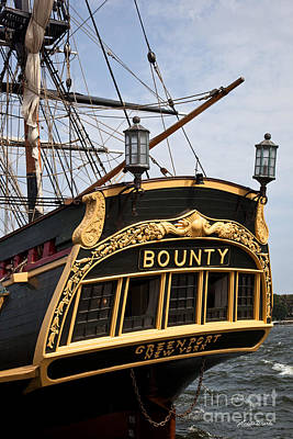 Photograph - The Bounty Tall Ship by Michelle Wiarda-Constantine