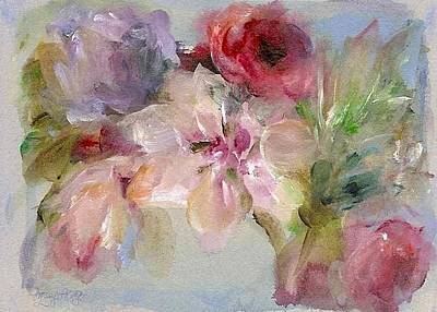Painting - The Bouquet by Mary Wolf