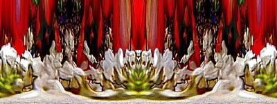 Digital Art - The Bouquet Unleashed 66 by Tim Allen