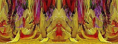 Digital Art - The Bouquet Unleashed 67 by Tim Allen