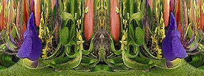Digital Art - The Bouquet Unleashed 74 by Tim Allen