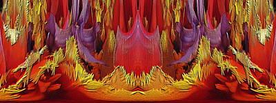 Digital Art - The Bouquet Unleashed 76 by Tim Allen
