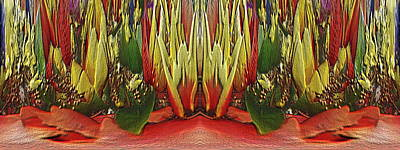 Digital Art - The Bouquet Unleashed 87 by Tim Allen