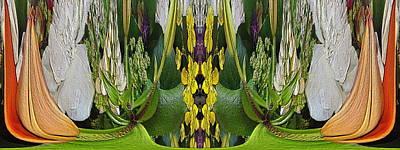 Digital Art - The Bouquet Unleashed 89 by Tim Allen