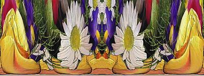 Digital Art - The Bouquet Unleashed 90 by Tim Allen