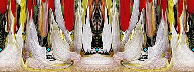 Digital Art - The Bouquet Unleashed 92 by Tim Allen