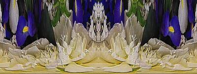 Digital Art - The Bouquet Unleashed 93 by Tim Allen