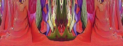 Digital Art - The Bouquet Unleashed 94 by Tim Allen