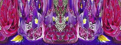 Digital Art - The Bouquet Unleashed 99 by Tim Allen