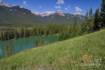Photograph - The Bow River by Charles Kozierok