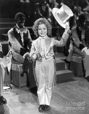 The Bowery Princess - Shirley Temple Art Print