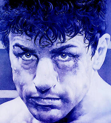 De Niro Photograph - The Boxer by Guido Prussia