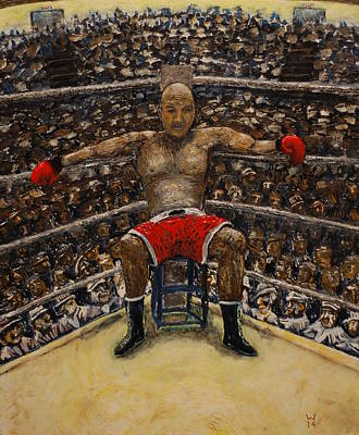 The Boxer Art Print by Richard Wandell