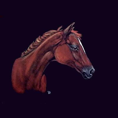 Jeanie Mixed Media - The Boy Arabian by Jeanie Beline
