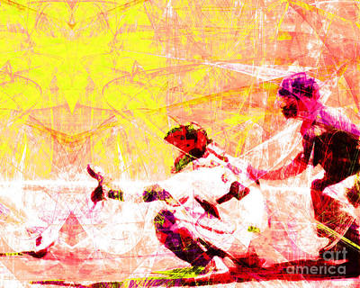 The Boys Of Summer 5d28228 The Catcher V2 Art Print by Wingsdomain Art and Photography