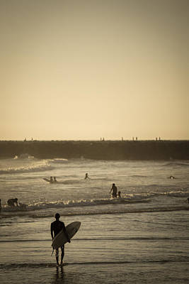 Surfing Photograph - The Boys Of Summer by Peter Tellone