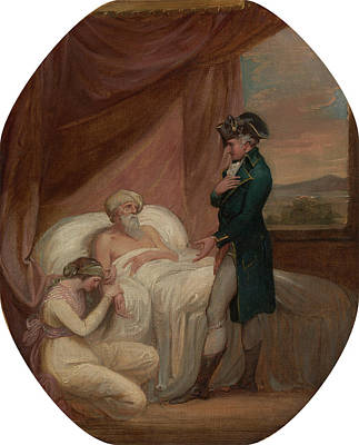 Kirk Painting - The Brahmin Committing His Daughter Coraly To The Care by Litz Collection